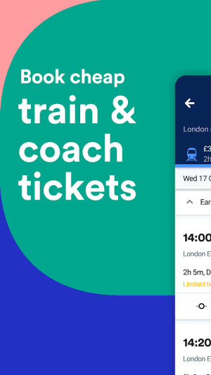 Trainline: Book Cheap Train Travel & Coach Tickets 82.0.0.42846 Screen 1