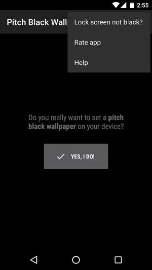 Pitch Black Wallpaper 3.5.0 Screen 8