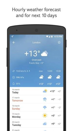 Yandex.Weather 11.26 Screen 6