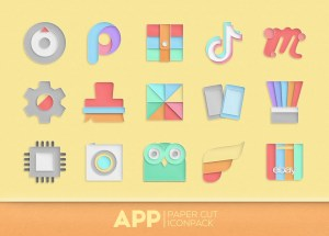 Paper Cut Icon pack New 1.0.13 Screen 3