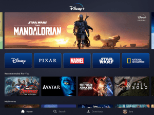 Android Disney+ Screen 3
