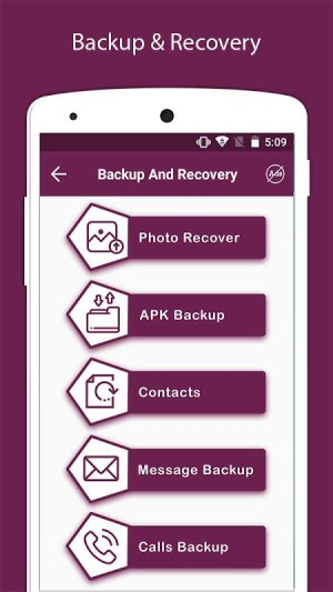 Recover Deleted All Photos, Files And Contacts 3.3 Screen 12