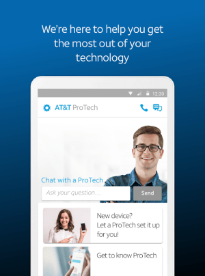 AT&T ProTech 1.4.28 Screen 2