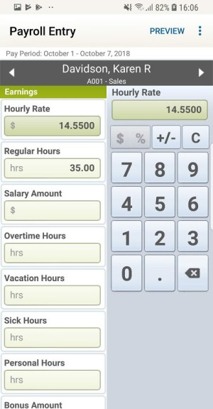 RUN Powered by ADP Mobile Payroll for Employers 1.12.3 Screen 1