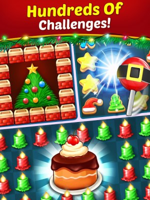Christmas Cookie - Santa Claus's Match 3 Adventure 3.1.0 Screen 6
