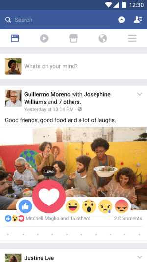 Facebook 122.0.0.0.9 Screen 4