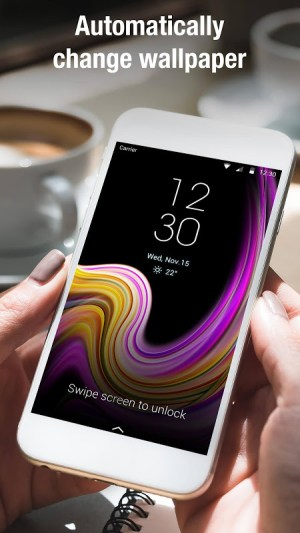 S8 lock screen for Galaxy Samsung phone 9.2.0.1882_master Screen 1