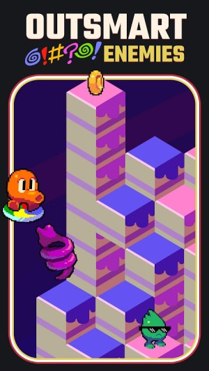Q*bert 1.3.4 Screen 1
