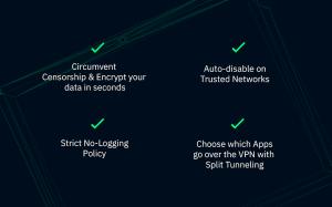 Windscribe VPN 2.3.1.294 Screen 1