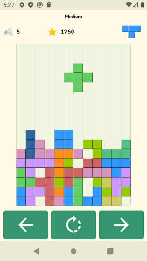 Android Brick Game Screen 2