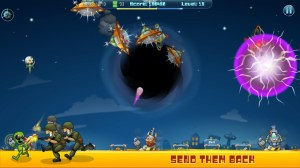Android Galactic Missile Defense Screen 1