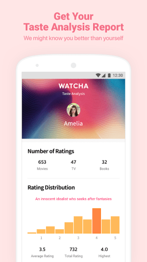 Watcha - Movies, TV Series Recommendation App 4.0.35 Screen 3