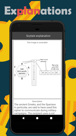 Cryptography (Collection of ciphers and hashes) 1.7.1 Screen 3