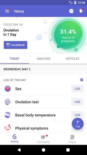 Glow Fertility - Ovulation Tracker, Period Tracker 7.6.7-play Screen 7