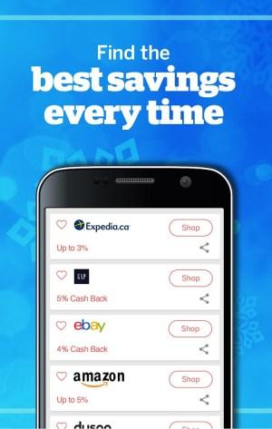 Rakuten.ca Ebates - Cash Back Shopping & Coupons 7.1.2 Screen 2