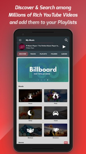 Pi Music Player -- MP3 Player, YouTube Music Videos 3.0.0c Screen 1