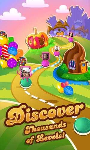 Candy Crush Saga 1.173.0.2 Screen 1