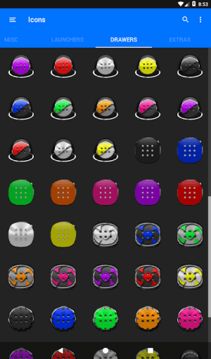 Blue Icon Pack ✨Free✨ 3.8 Screen 16