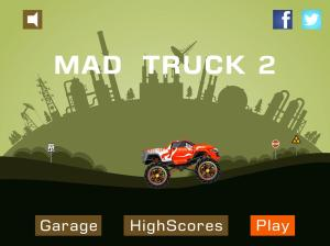 Mad Truck 2 -- monster truck hit zombies 3.71.9 Screen 5