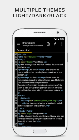 QuickEdit Text Editor Pro - Writer & Code Editor 1.5.1 Screen 4