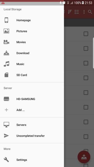 SMB Client 1.5.6 Screen 3