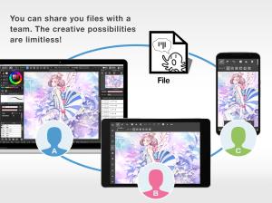 Android MediBang Paint - drawing Screen 4