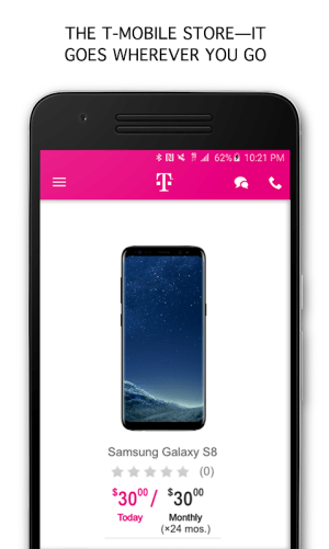 T-Mobile 6.8.0.16 Screen 4