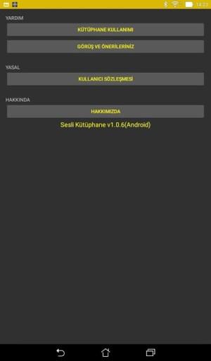 Android Sesli Kütüphane Screen 4