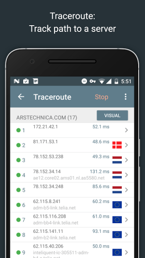 Network Analyzer Pro 2.1 Screen 5
