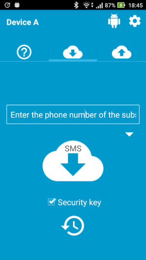 Android Intercepteur SMS L'espion (zone sms) Screen 1