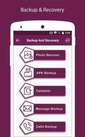 Recover Deleted All Photos, Files And Contacts 3.3 Screen 6