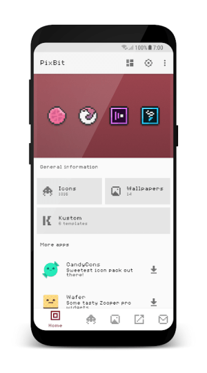 Android PixBit - Pixel Icon Pack Screen 2