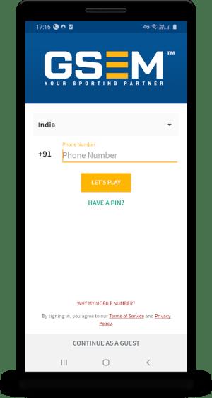 GSEM 1.4 Screen 1