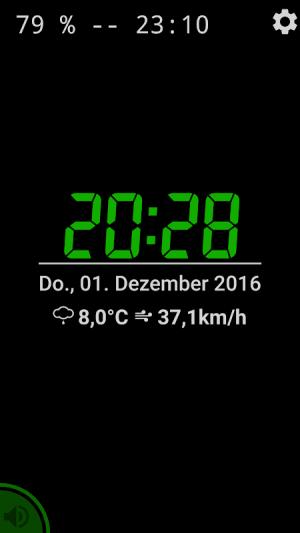 Night clock 2.10.12 Screen 1