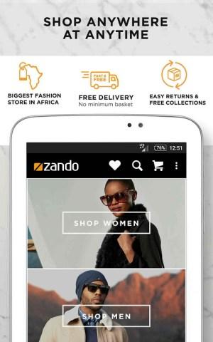 Online Fashion Shopping Zando 1.4.1 Screen 16