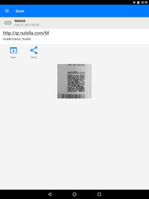 QR & Barcode Scanner 1.6.6 Screen 11
