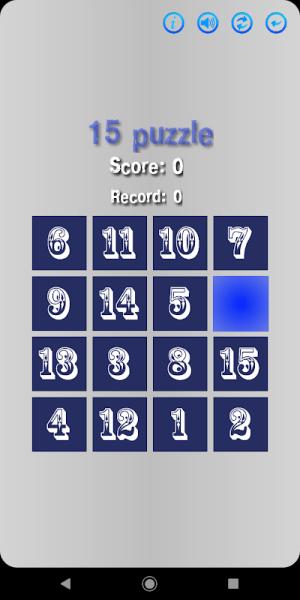 New 15 PUZZLE - 3 Farklı level 4.0 Screen 4