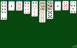 Spider Solitaire 1.05 Screen 1