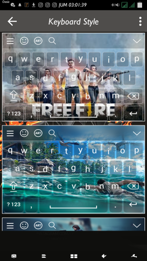 qwerty Garena Fire 1.0 Screen 1