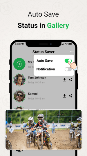 Status Saver for WhatsApp - Save & Download Status 1.8 Screen 6