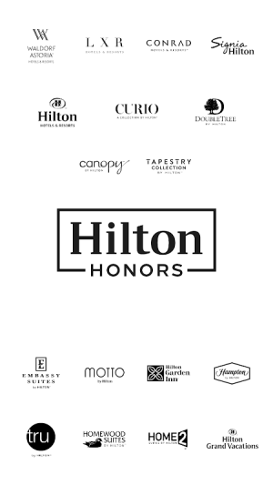 Hilton Honors: Book Hotels 2021.2.23 Screen 6