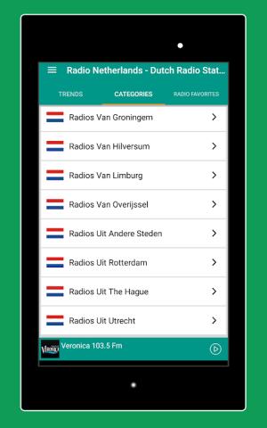 Android Radio Netherlands - Radio Netherlands FM: Radio NL Screen 9