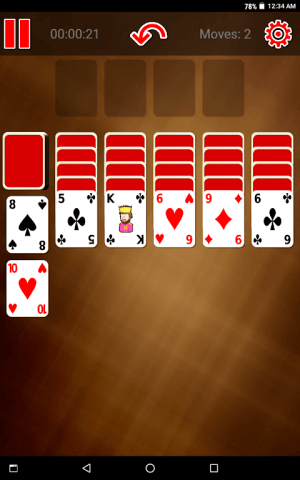 Switch Spider Solitaire 0.0.3 Screen 3