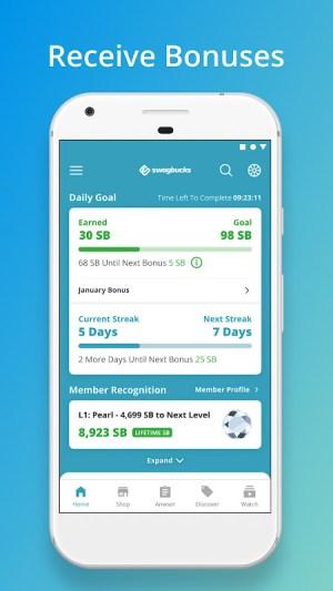 Android Swagbucks Screen 3