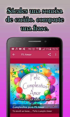 Android Feliz Cumpleaños Screen 5