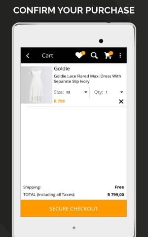 Online Fashion Shopping Zando 1.2.0 Screen 21