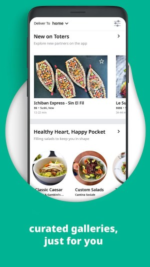 Toters:Food Delivery & More 3.5.02 Screen 2