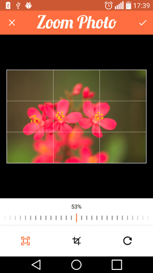 Android Compress Image , Resize and Crop Screen 2