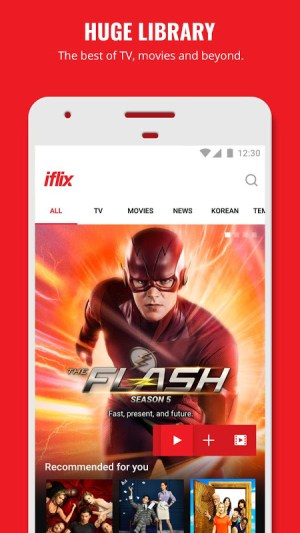 iflix 3.26.0-16428 Screen 1