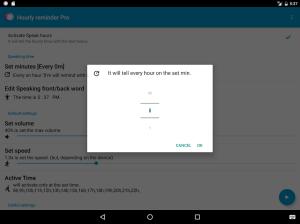 Hourly Talking Alarm Clock  Reminder Lite 2.9.8 Screen 10